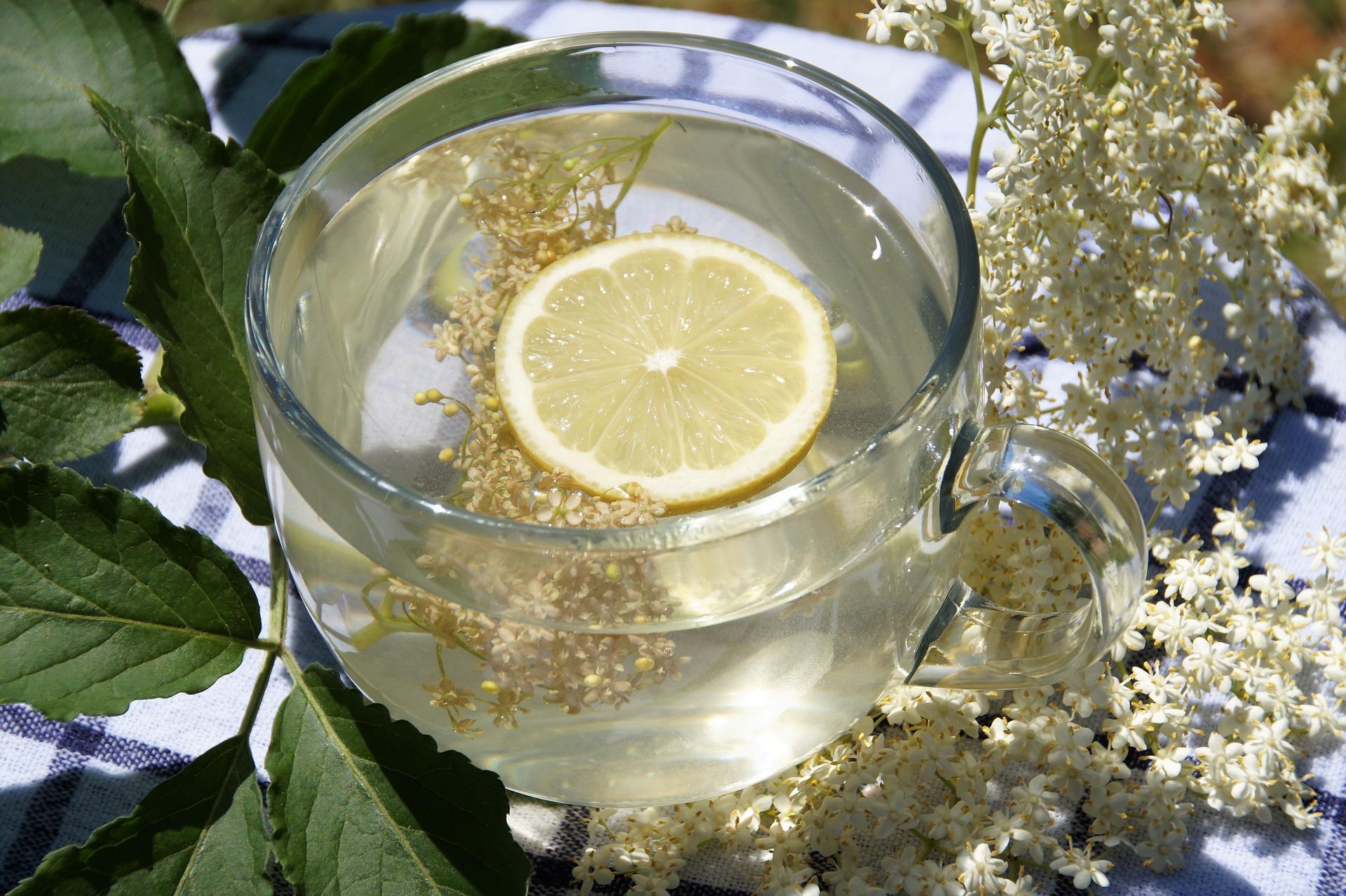 Bezový čaj citron