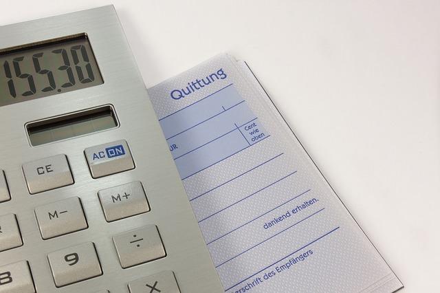 kalkulačka s částkou