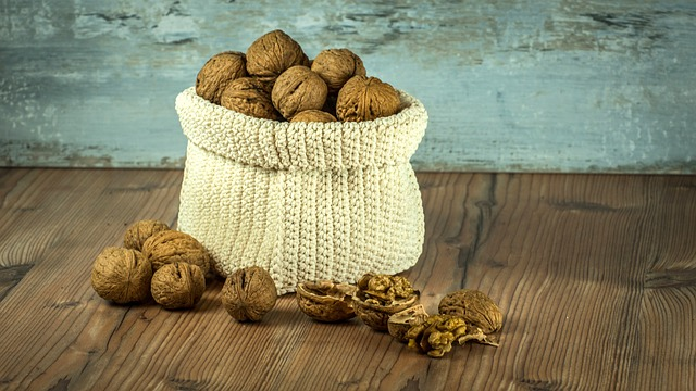 pytlík ořechů