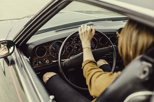 osoba za volantem