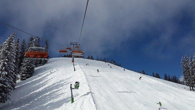 lyžování na horách